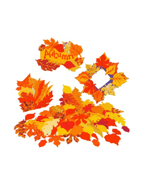 Paper Autumn Leaves