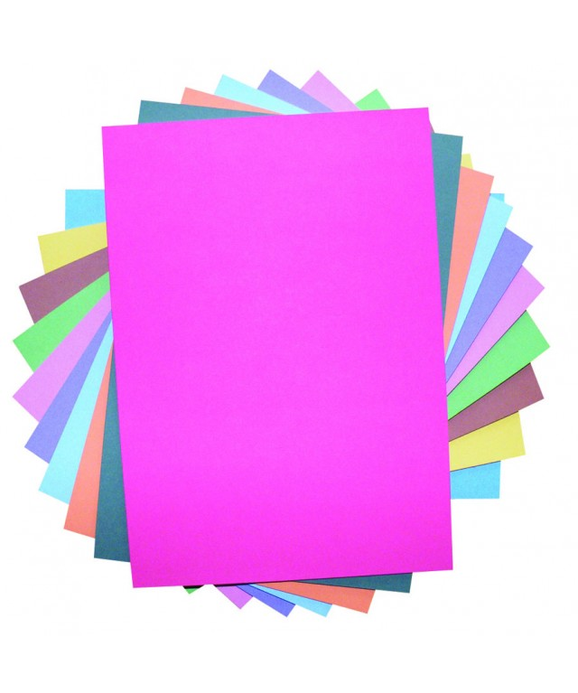 Ten Card A3 230 Micron Assorted Recycled