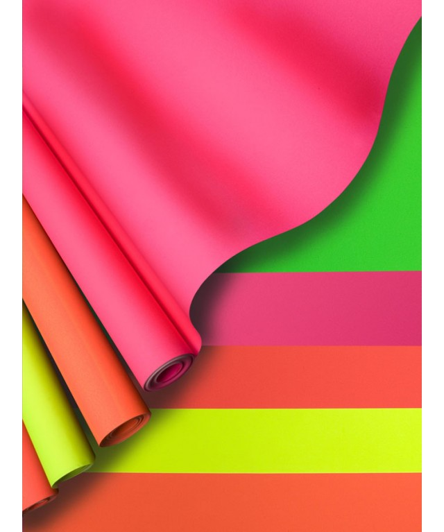 Day-Glo Poster Paper Rolls Flash Green