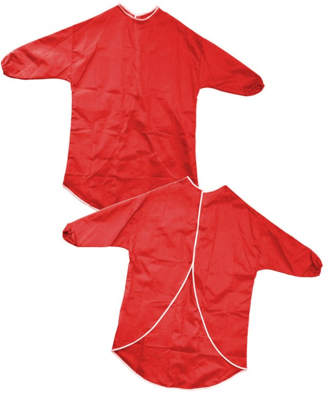 Nylon Play Apron 60cm Red