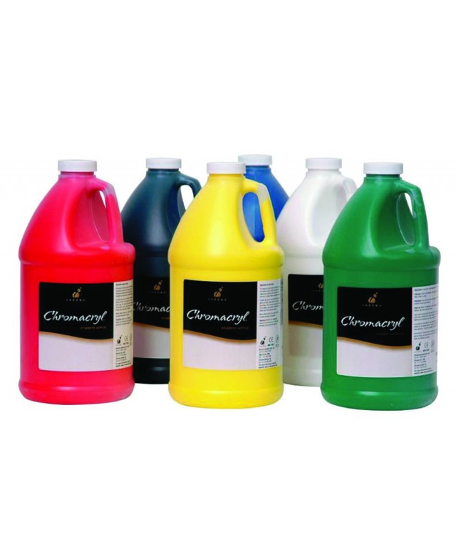 Chromacryl Individual 2 Litre Colours Black