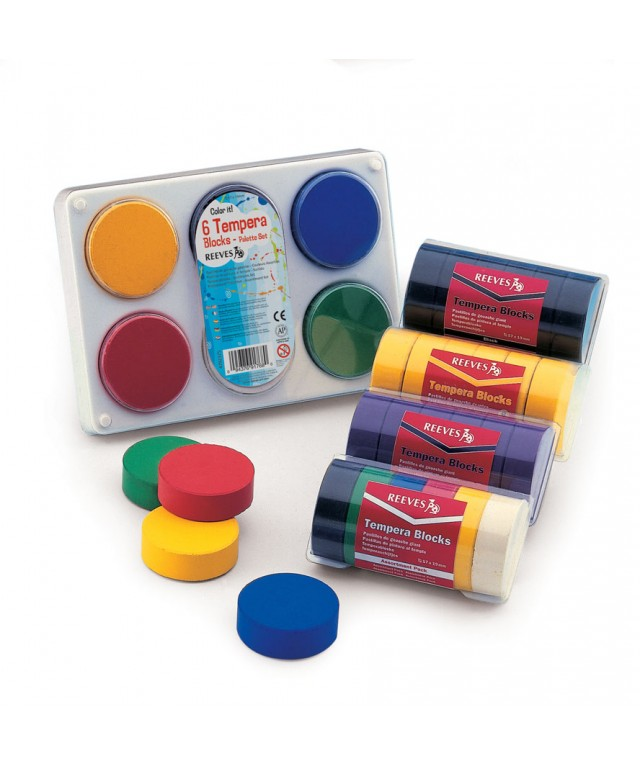 Colour Blocks Pack of 6 Assorted