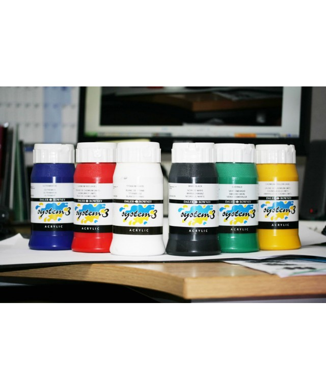 System 3 Assorted Paint Pack