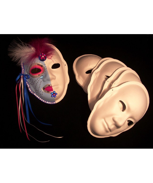 Strong Plain Paper Mask