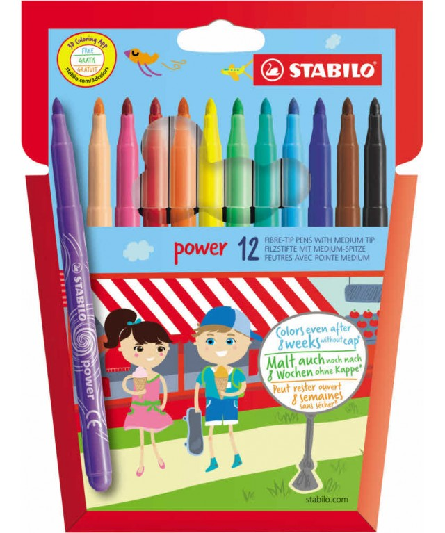 Stabilo Power Broad Assorted