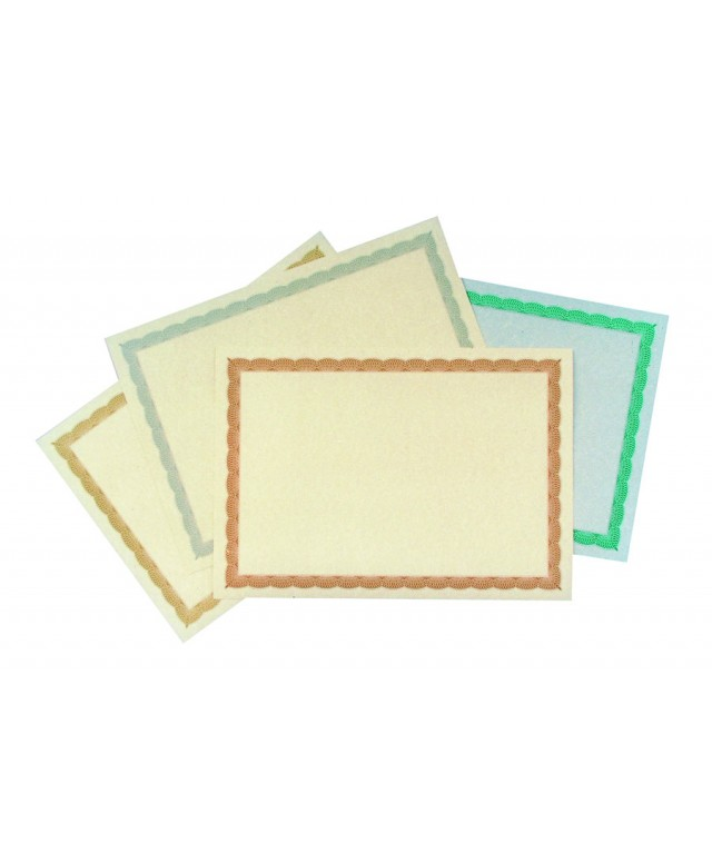 Certificate Border Sheet A4 90gsm Gold