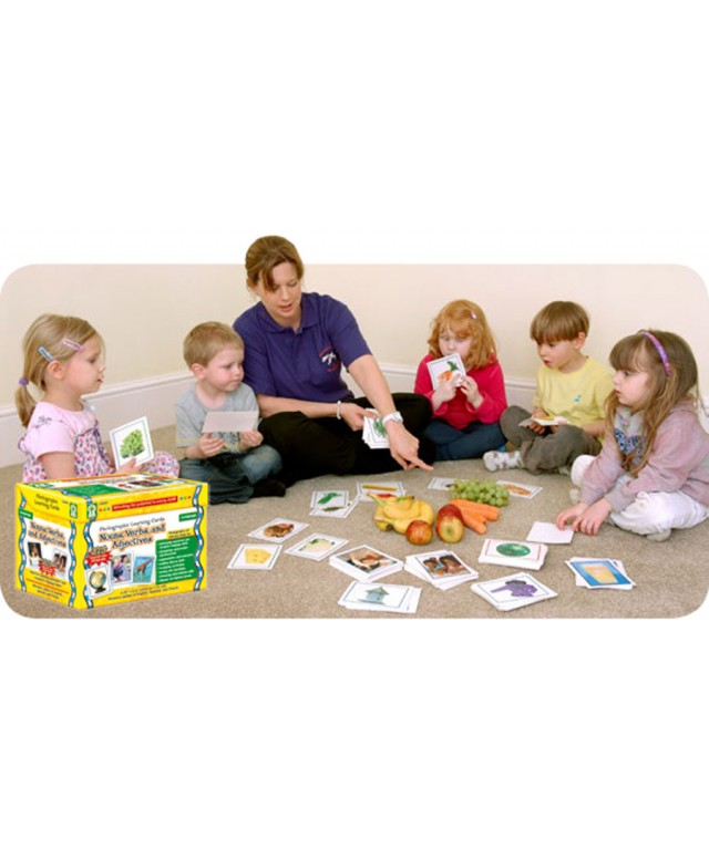 Nouns, Verbs and Adjectives Flash Cards