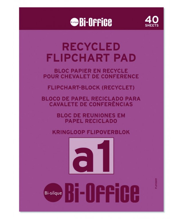 Flipchart Pads A1 Recycled