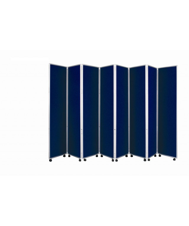 Concertina Mobile Room Dividers 1500mm High