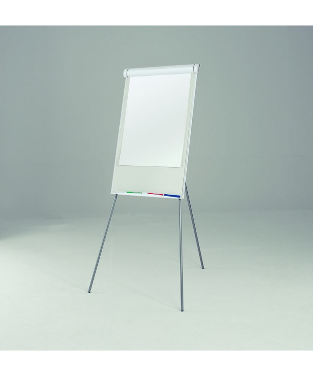 Easy Flipchart Easel White Framed