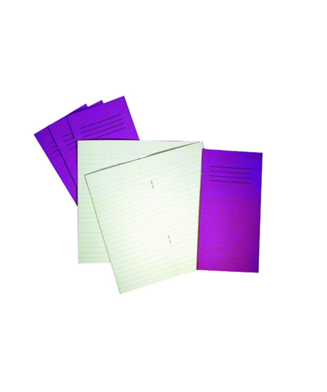 Exercise Books 8 X 4 32 Page 12mm Feint Vivid Red