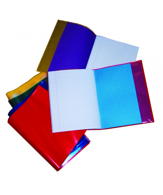 Exercise Book Covers 9 X 7 Assorted Colours