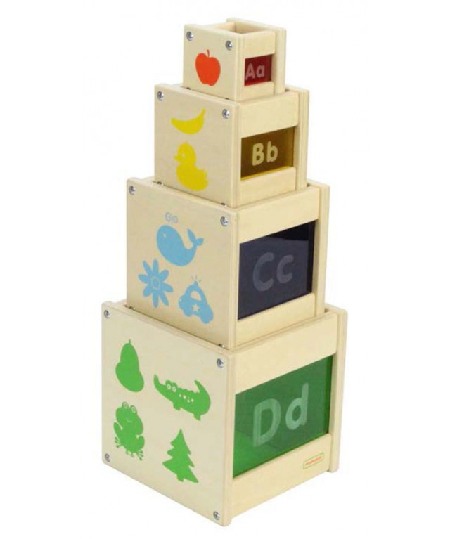 Colour Discovery Stacking Cubes
