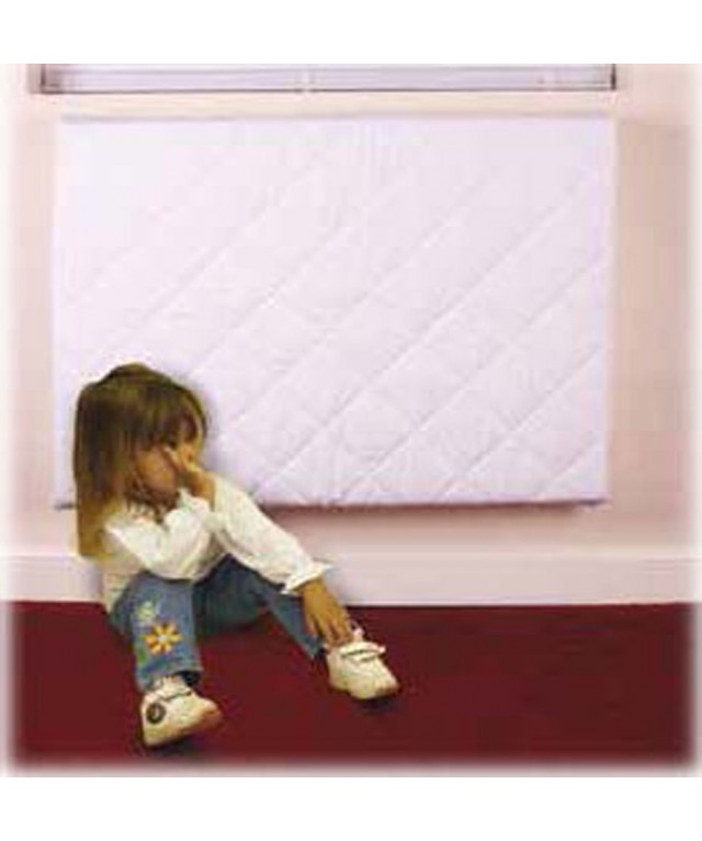 Radiator guard 122cm x 89cm - White