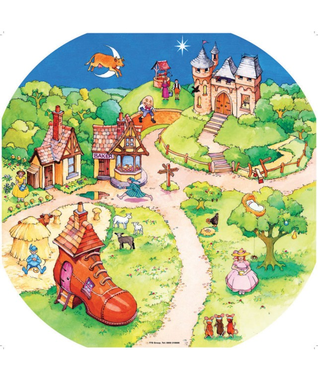 Active World Mat - Nursery Rhymes