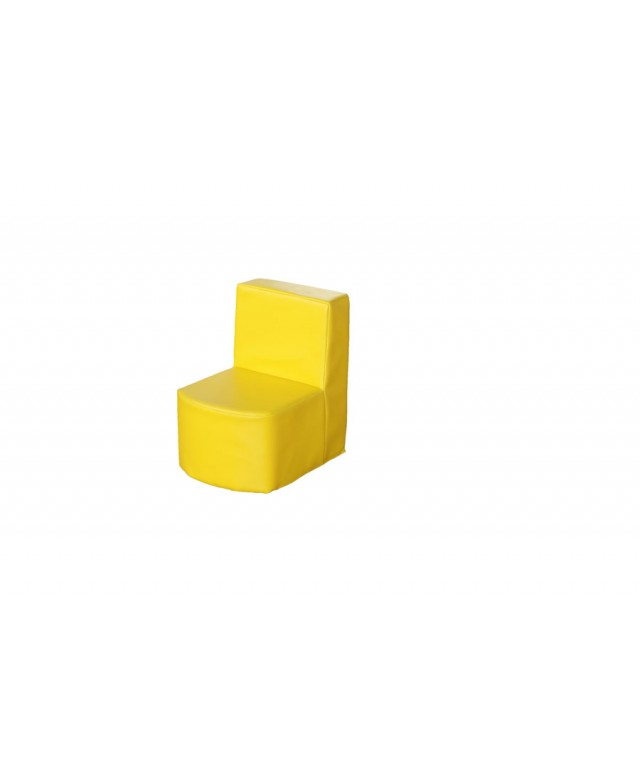 Modular Seating Unit Chair Yellow