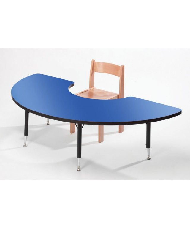 Blue Arc Table