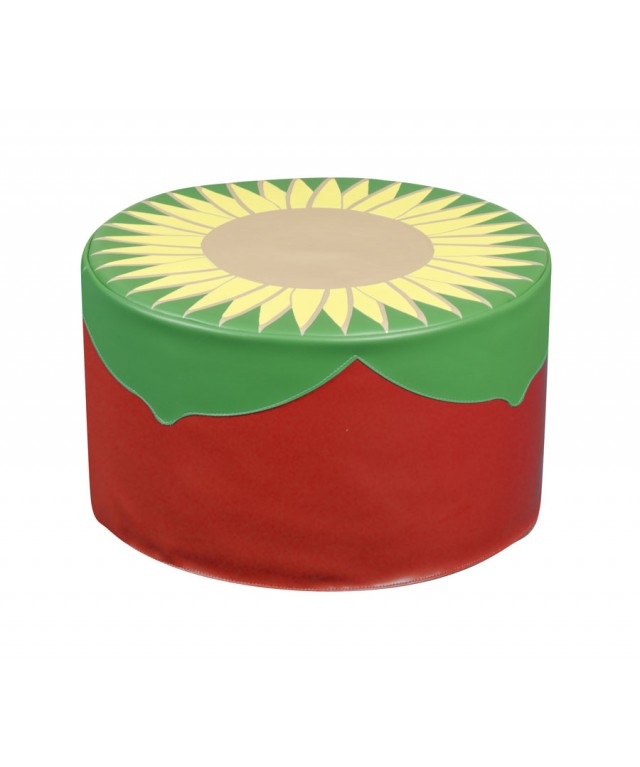 Back To Nature Sunflower Pouf 500 x 500 x 300mm