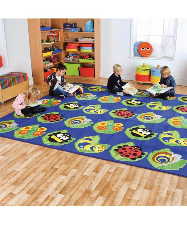 Back to Nature Square Floor Mat L3 x W3m