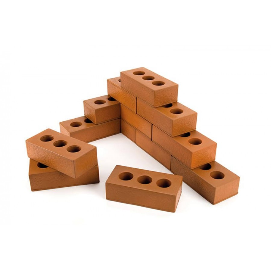 Role Play Foam House Bricks 75pk | Creative Activity