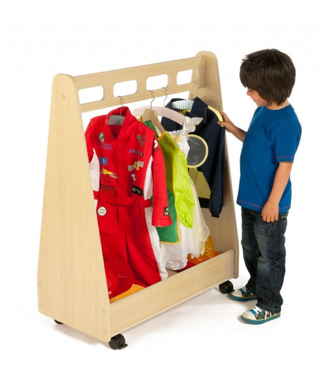 Basic Dressing up Trolley + Free Standing Mirror
