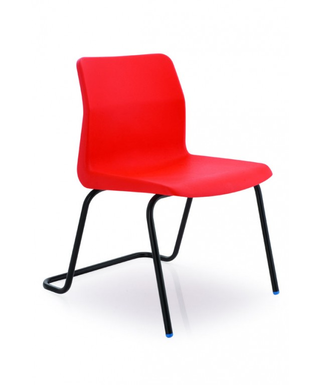 Poly Anti-Tilt Classroom Chair 430mm High