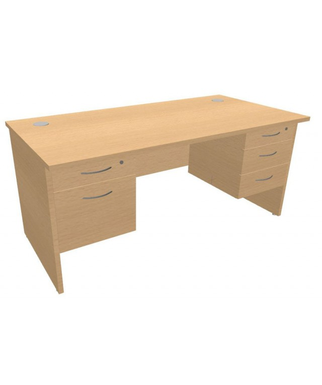 Panel Leg Teachers Desk 1600 x 800mm