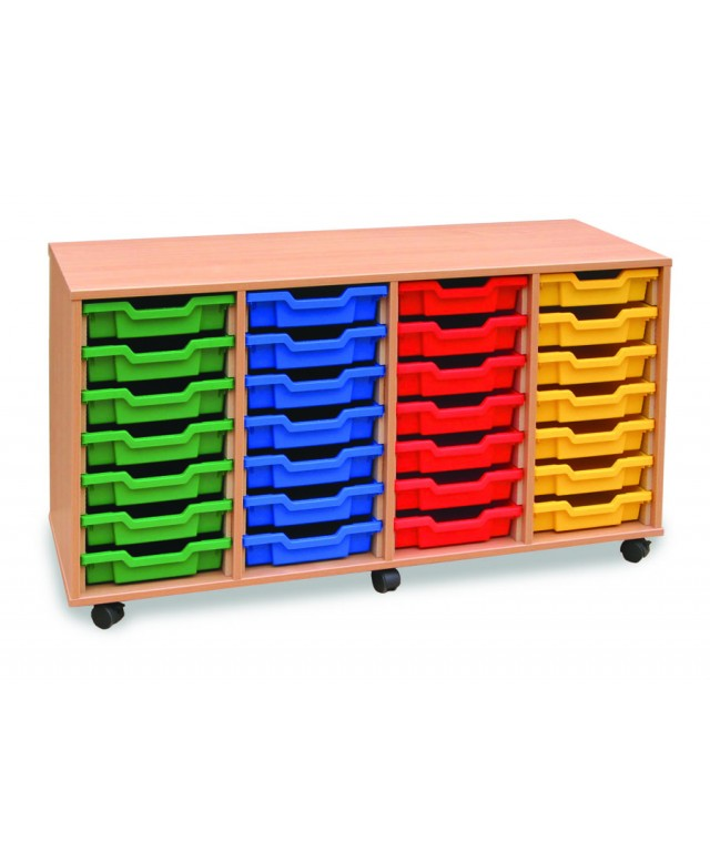 28 Tray Unit Mobile With Doors
