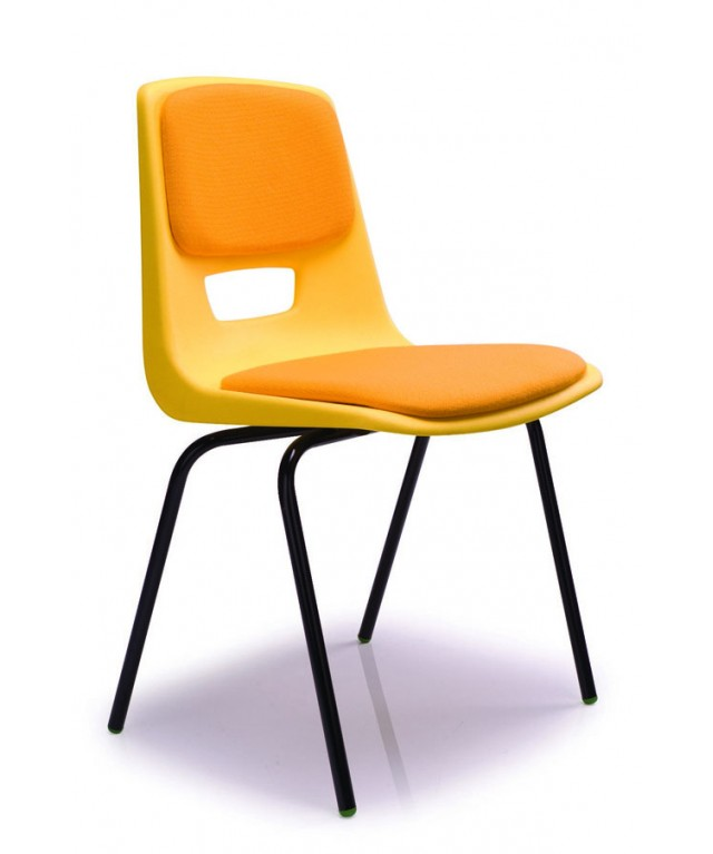 Upholstered Seat & Back Poly Chair