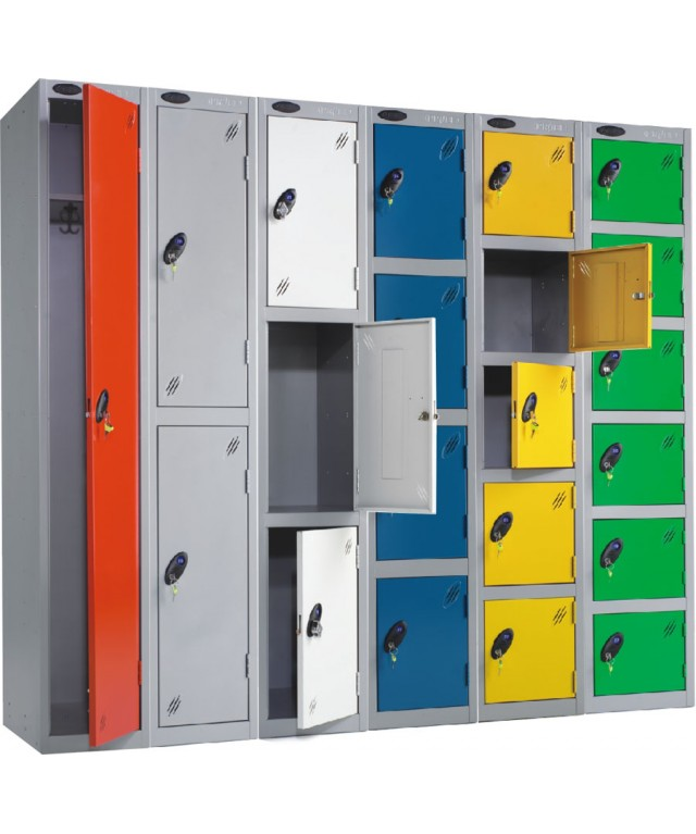 Five Compartment Locker 305 X 380mm Single