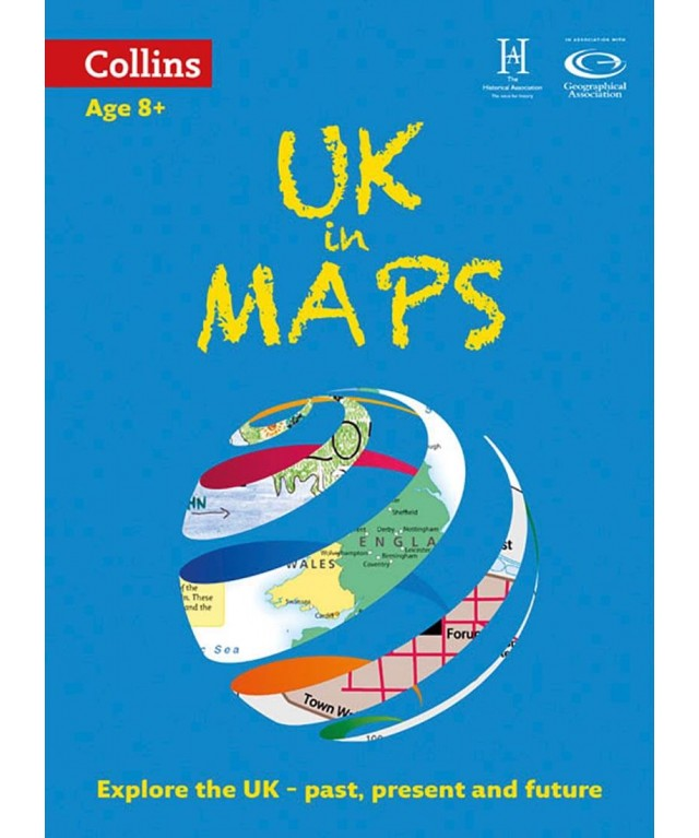Collins Keystart UK Atlas KS2