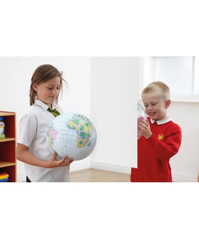 Inflatable Globe Political 30cm