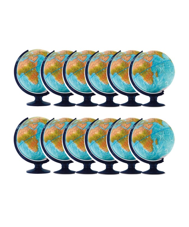 Maddison Physical Globe 12pk
