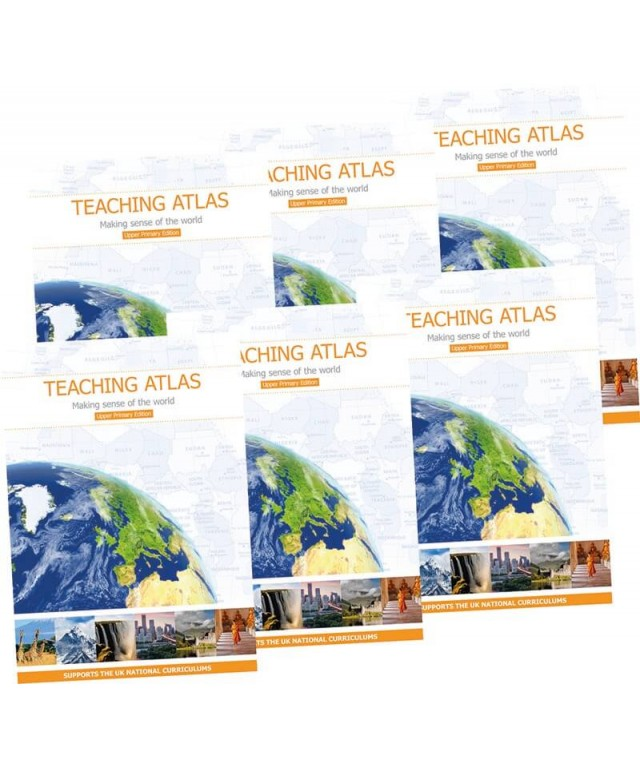 Teaching Atlas Upper pk 6