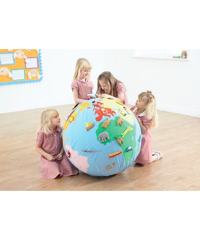 Giant Soft World Globe KS1