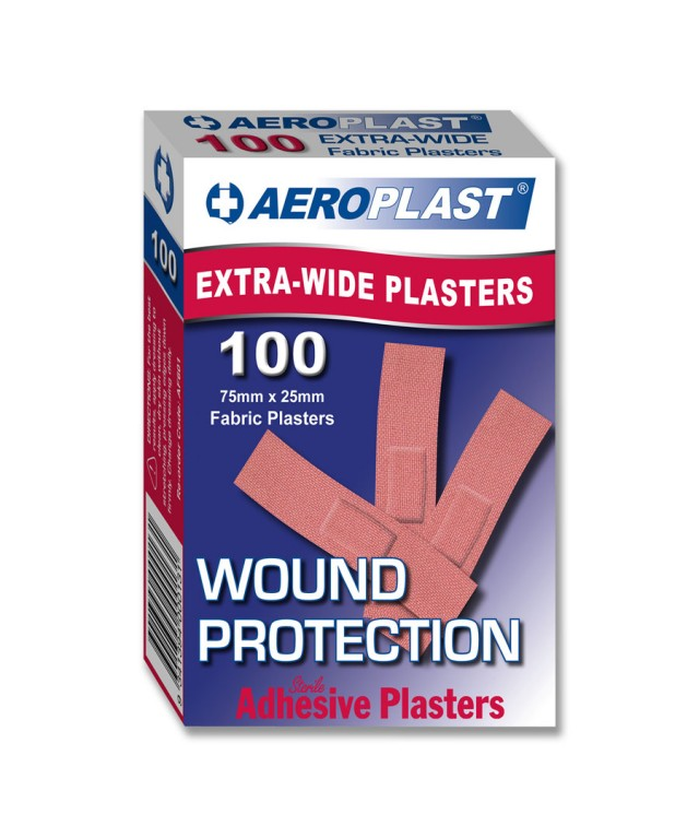 Fabric Plasters 75X25mm Af601