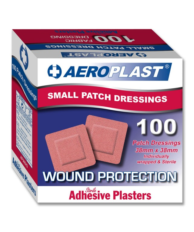 Fabric Plasters 38X38mm Af505