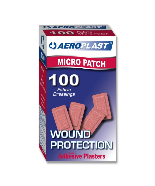 Fabric Plasters Micro Patch 38X22mm Af503
