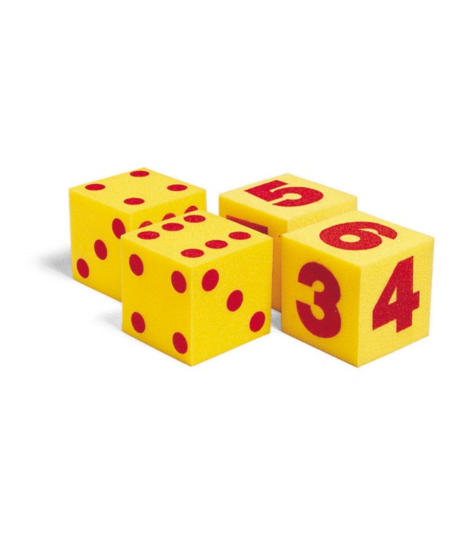 Giant Numeral Cubes