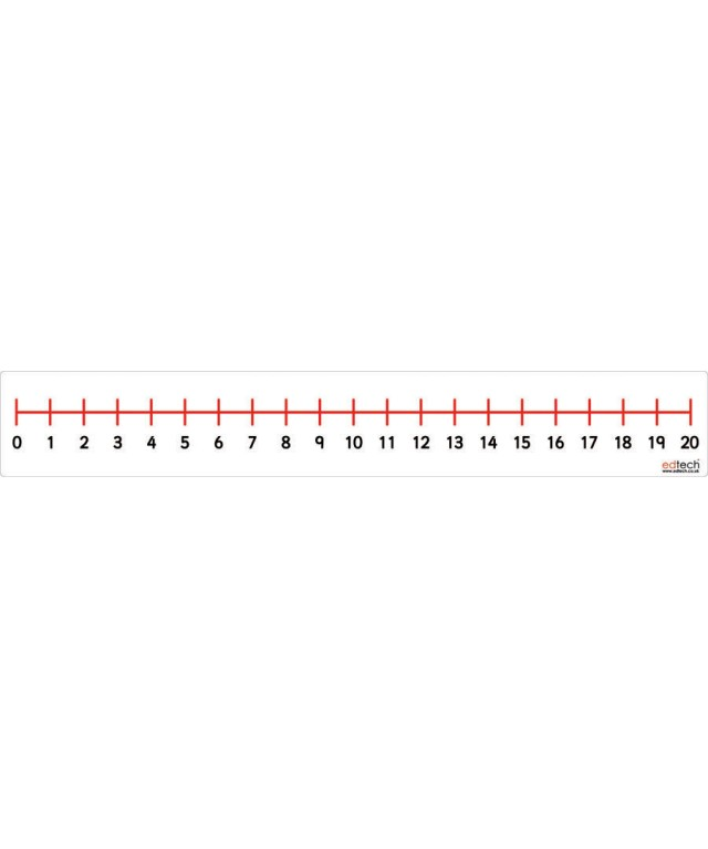 Magnetic 0 To 20 Number Line