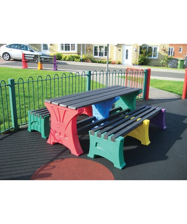 2x 3 Person Bench & Table