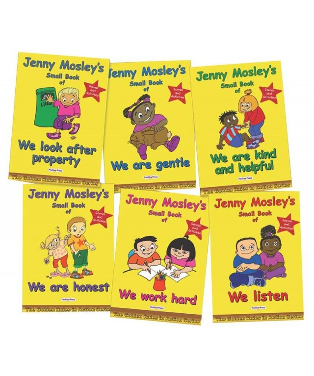 Jenny Mosley's Small Books of the Golden Rules in Action