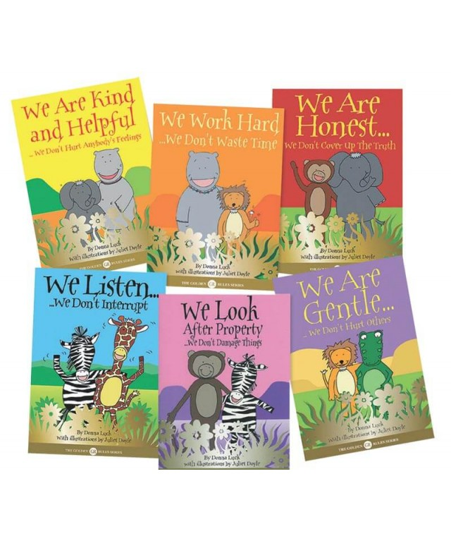 Golden Rules Books Set of 6