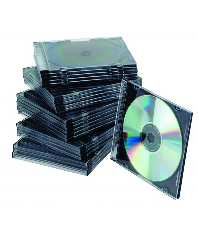 Standard CD Jewel Cases