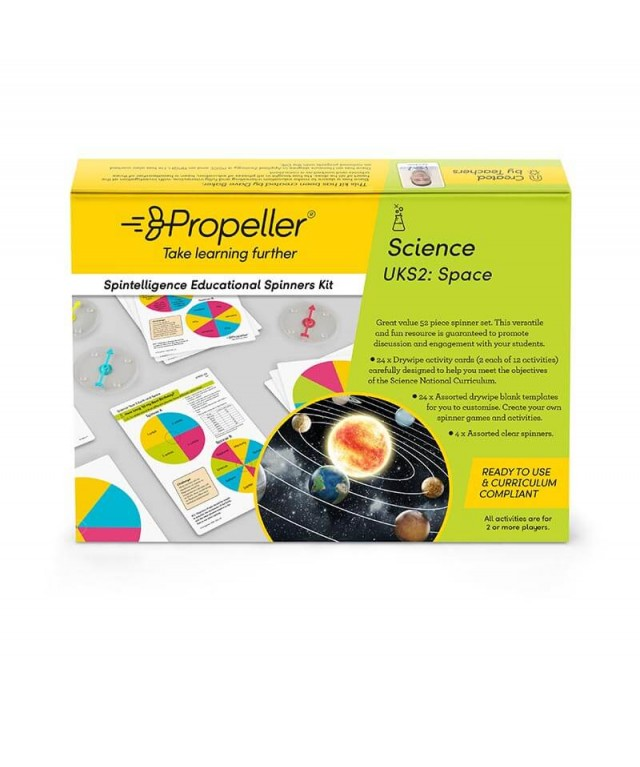 UKS2 Science: Space Spinner Kit