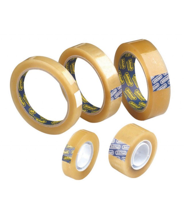 Orignal Sellotape Clear 19mm X 33M
