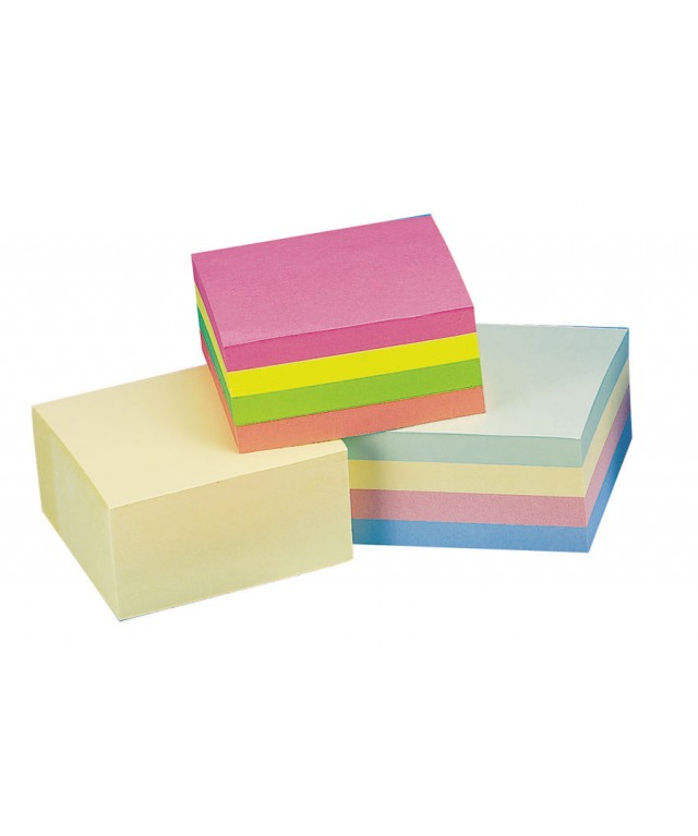 Quick Note Cubes 75 X 75 Neon