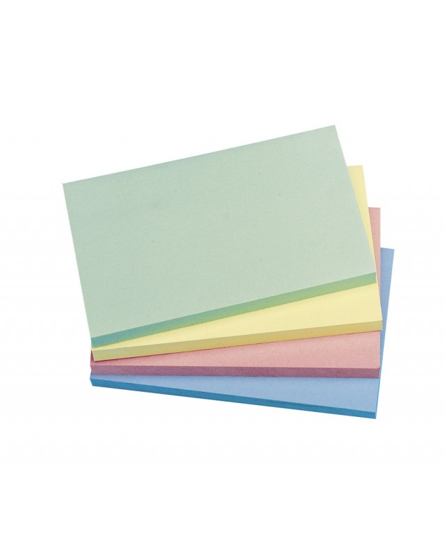 Coloured Sticky Notes 125 X 75mm Pastel Rainbow