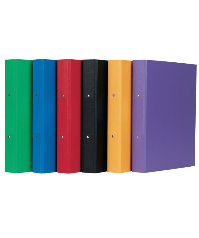 Economy Ring Binder 2 Ring Red